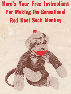 Sock Monkey With Care